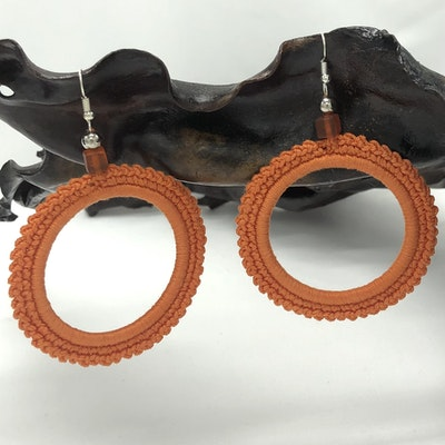 Chauffe-Moi Australia Large Hoop Earrings