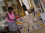 Tiwi art draws creation from the Melville Island land itself