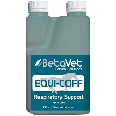 BETAVET Natural Solutions Horse Equi-Cough Respiratory Support Supplement - 3 Sizes