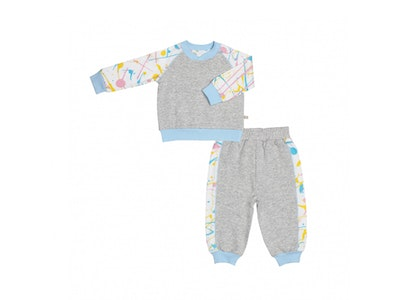 OETEO Australia Get Messy Terry Sweater and Pants Set