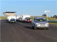 Poplar Tourist Park puts Jayco members on raceway grid with Christmas on a stick club rally event
