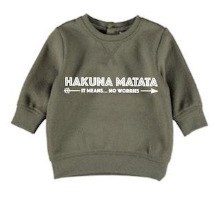 Hakuna Matata Jumper - Military