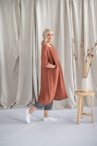 Tilly Dress - Toffee