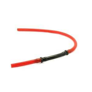 PVC Uni Flow Breather Hose - Red