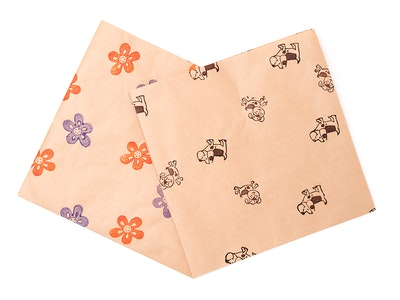 Wrapturous Recycled Kraft Paper Gift Wrapping Large