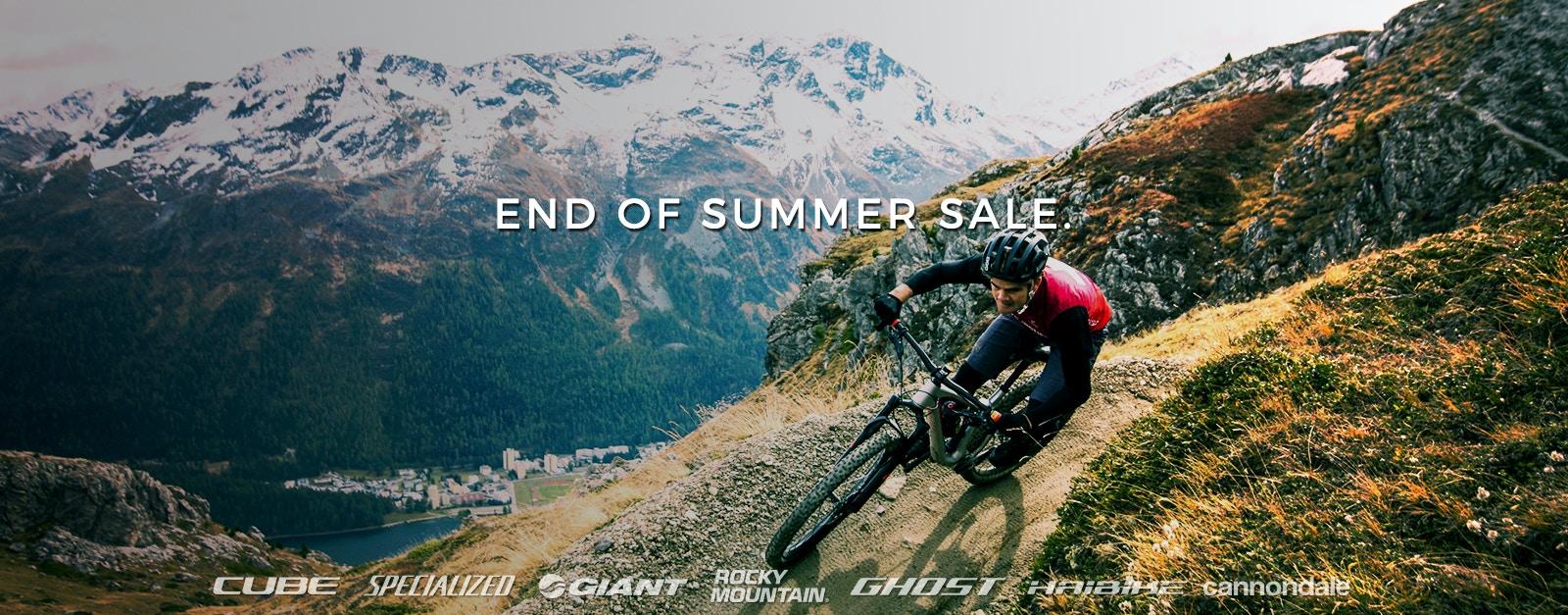 Fahrrad End of Summer Sale