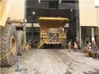 Kalgoorlie mine trucks are 150 tonne  monsters