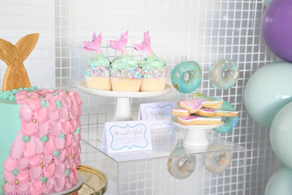 Ivy and Bleu Mermaid Party Cakes