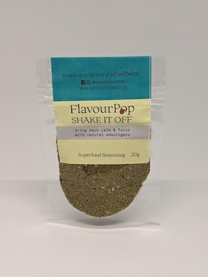 Flavour Pop Shake it Off Sample - Superfood Seasoning for Wellbeing 20g