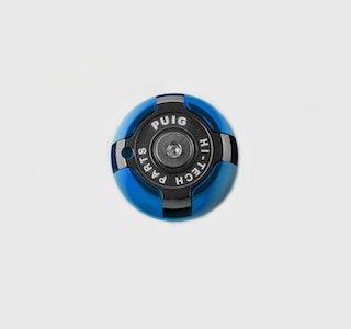 Puig Hi-Tech Oil Plug For Various Yamaha Models (Blue)