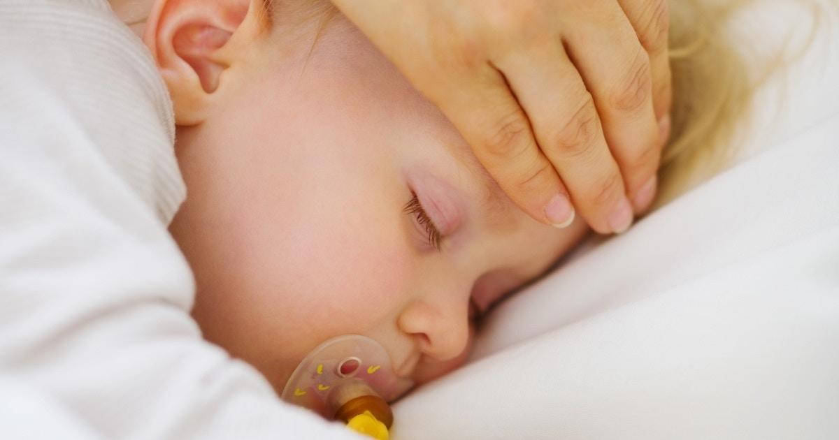 Handling baby's fever
