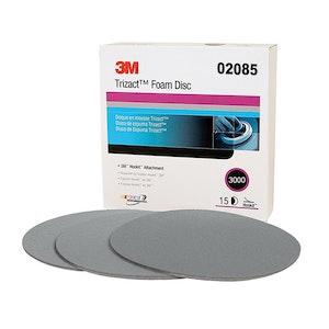 3M Trizact Foam Disc P3000 150mm, 02085 (1 Disc)