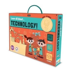 Sassi Junior Sassi - Learn all about Technology - Book and Model Set