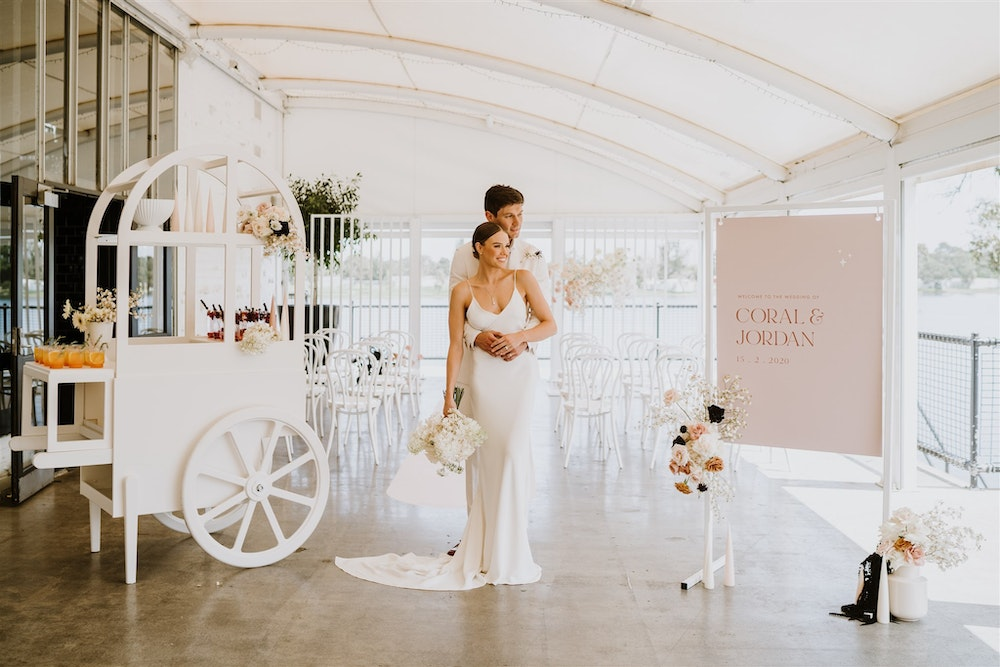Modern Muse - Trending neutral nude bridal wedding colour palette for 2020 bride