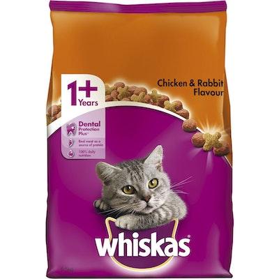 Whiskas Vitabites Chicken and Rabbit Flavour Dry Cat Food 6.5kg