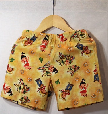 Handgrown Threads Shorts - Size 4 - Country Dance
