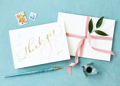 THE ETIQUETTE OF A THANK YOU NOTE