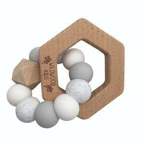 Hexagon Teething Toy