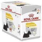 Royal Canin Dog Wet Pouches Dermacomfort Care Loaf 12x85g