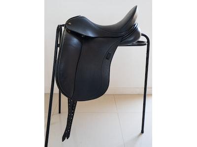 """Peter Horobin Heike Kemmer Dressage Saddle 17.5"""" 2012"""
