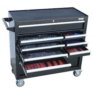 SP50615 Tool Kit 347 Piece Roller Cabinet METRIC/SAE Custom Series SP50615
