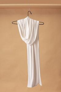 Bamboo Scarf- White