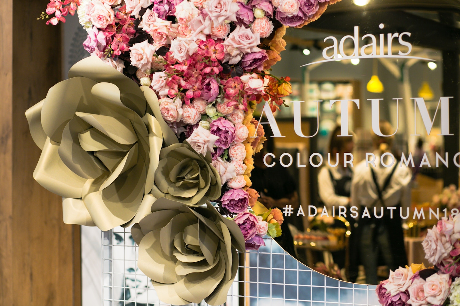 AUTUMN ROMANCE AT THE ADAIRS LAUNCH