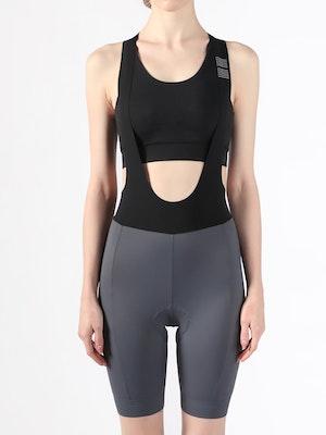 Soomom Women's Essential Cycling Bib Shorts - Grey
