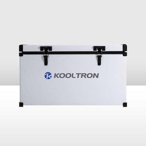 Kooltron 82L Low Profile Single Compartment Fridge / Freezer Camping 12v 24v 240v