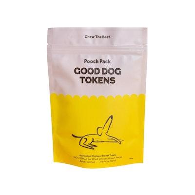 Pooch Pack Good Dog Tokens - Chicken 100g