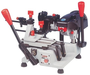 Silca Lancer Plus machine for safe and flat key cutting