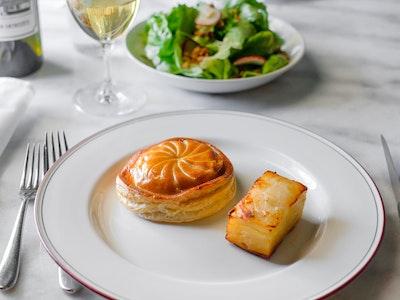 VÉGÉTARIEN Entrecôte AT HOME for 2 people, 2 courses w/ sourdough baguette