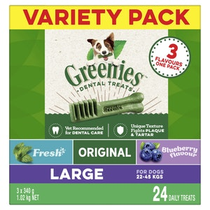 Greenies Dog Treat Multi Variety Pack 1kg