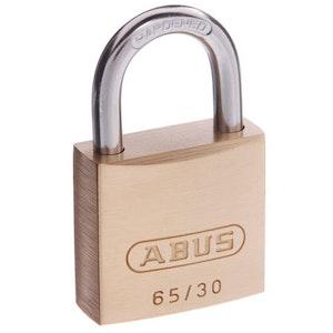 ABUS Brass Padlock 65/30 Keyed Alike -KA301