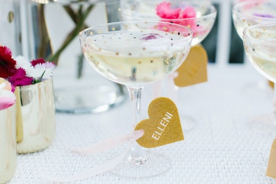 ADD SOME FEMININE FLAIR TO YOUR BUBBLY WITH YELLOWGLEN