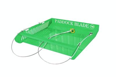 Paddock Blade Horse Paddock Cleaner - Green
