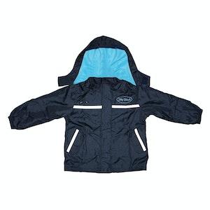 Silly Billyz XL Aqua/Navy Waterproof Jacket