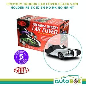 SAAS Indoor Show Car Cover FB EK EJ EH HD HK HQ HR HT Classic Holden Black 5.0m