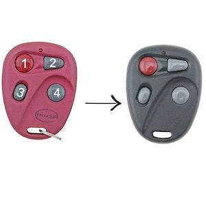 Remote Pro Forza 1000 Red Remote