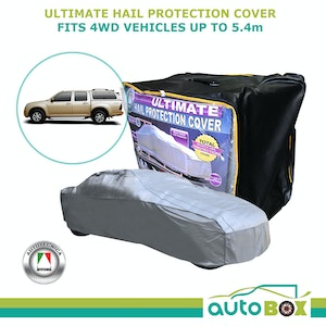 Ultimate Hail Stone Car Full Cover 4WD to 5.4 Metres Isuzu D-Max with Canopy
