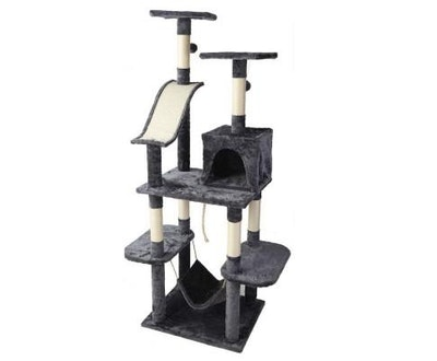 House of Pets Delight Cat Tree 171cm Scratching Post Tower