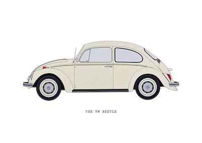 The VW Beetle - Cream