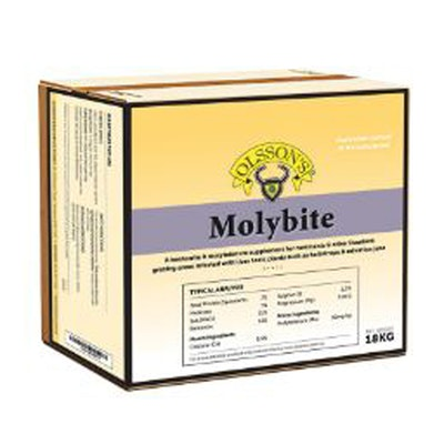 Olsson Molybite Livestock Molybdenum Deficiency Supplement 18kg