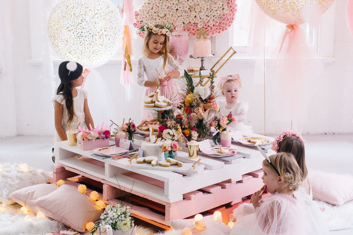 Make Your Own Crate Table Children S Party Diy