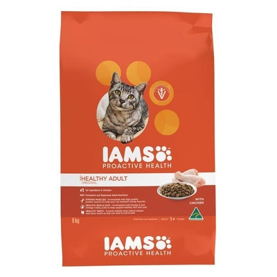 Iams Original Healthy Adult Chicken Dry Cat Food