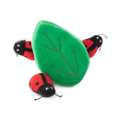 Zippy Paws Zippy Burrow - Ladybugs in Leaf