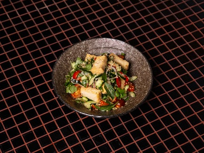 Crispy Tofu, Tomato, Sweet Tamarind