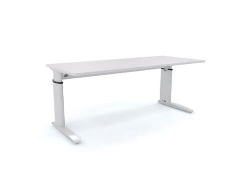 150cm Aero Height Adjule Desk Office Desks For In Hawthorn