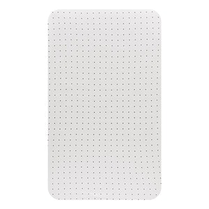 Change Mat Cover Jersey Cotton: WHITE WITH BLACK DOTS
