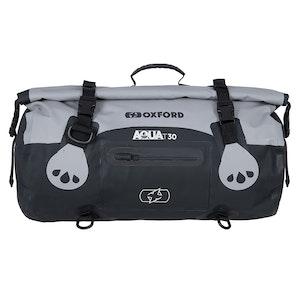 Oxford Aqua T30 Roll Bag - Black/Grey